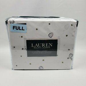 Lauren Ralph Lauren 4 PC Full Sheet Set Honey Bee